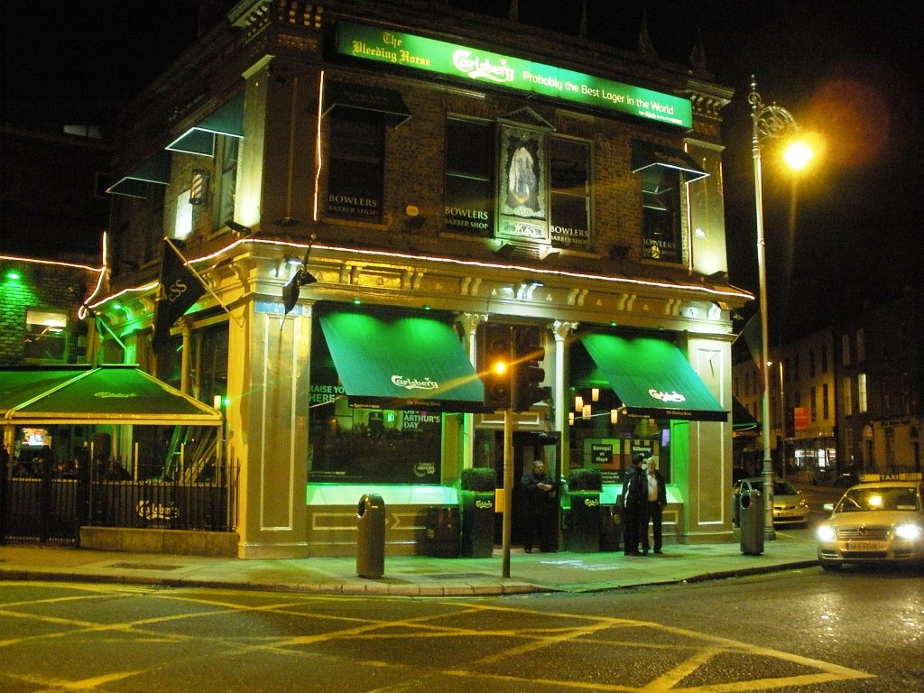The Bleeding Horse Pub in Dublin
