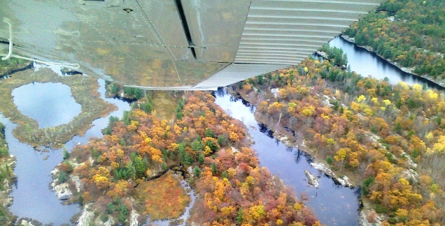 Banked Turn Over Muskoka by marktravel