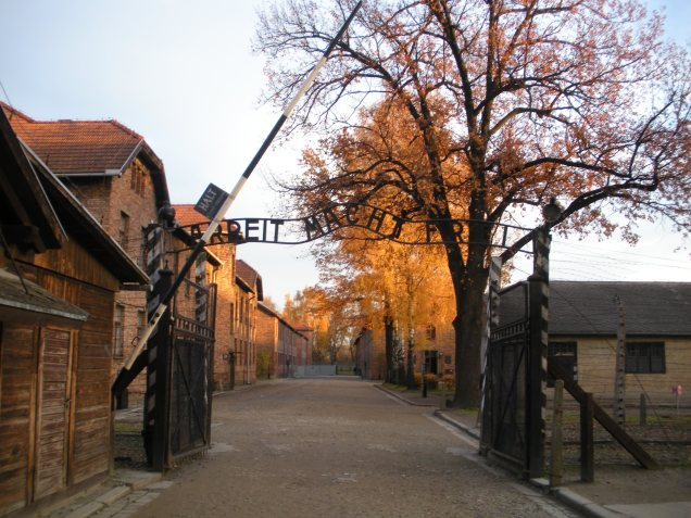 Auschwitz at the gates by marktravel