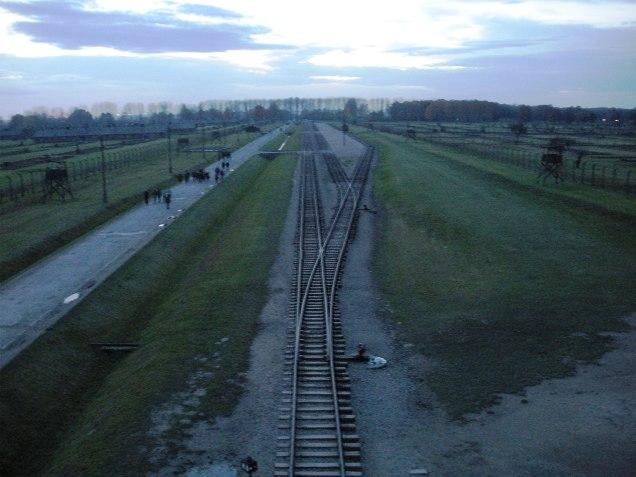 Auschwitz 2 - Berkenau from the Main Gate by marktravel