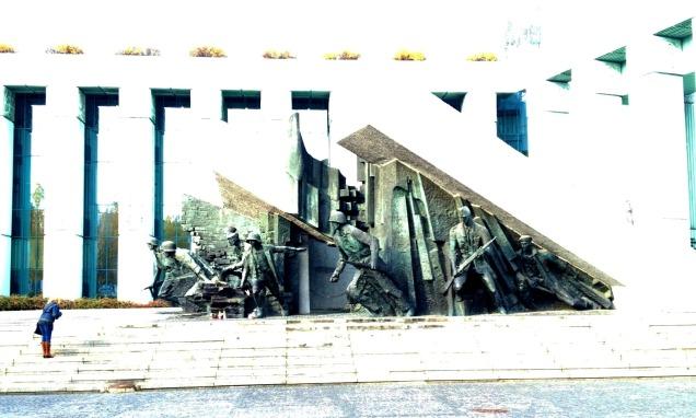 World War 2 Memorial in Warsaw by marktravel