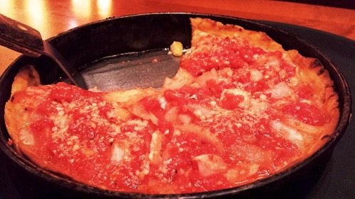 Chicago- Deep Dish Pizza