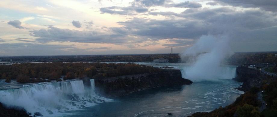 Niagara Falls Canada At Twilight by marktravel.jpg