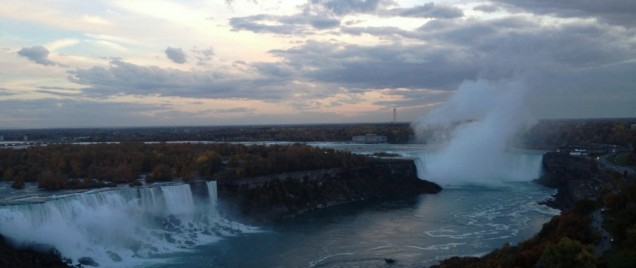 Niagara Falls Canada At Twilight by marktravel.jpg