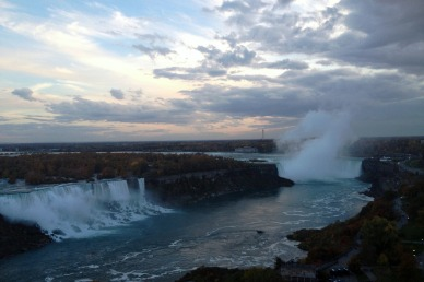 Niagara Falls Canada at twilight by marktravel