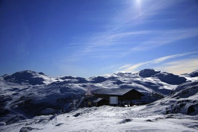 Norway- Hemsedal from the Top