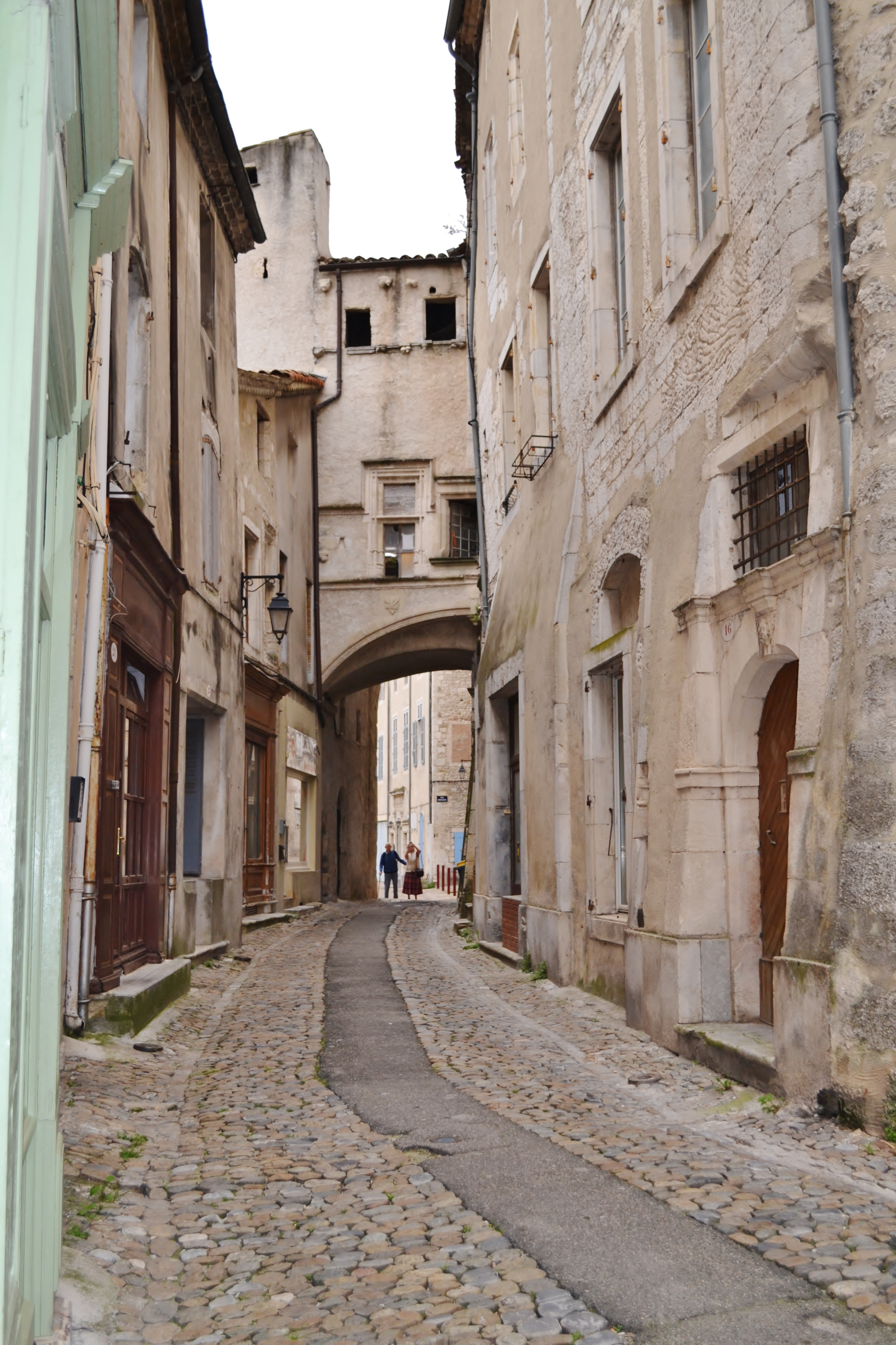 The streets of Viviers