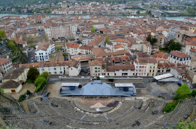 The Roman Amphitheatre in Vienne, France