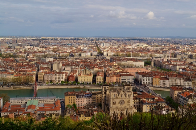 Overlooking Lyon
