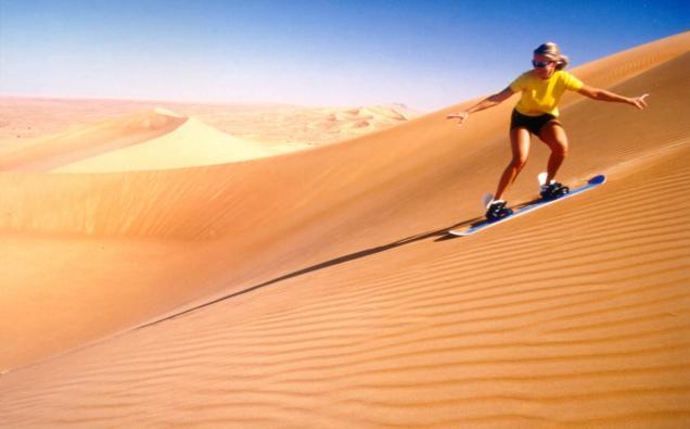 desert-sandboarding