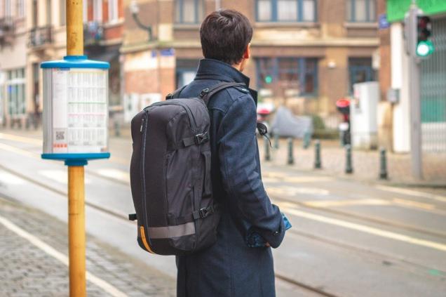 Slicks bag as a backpack