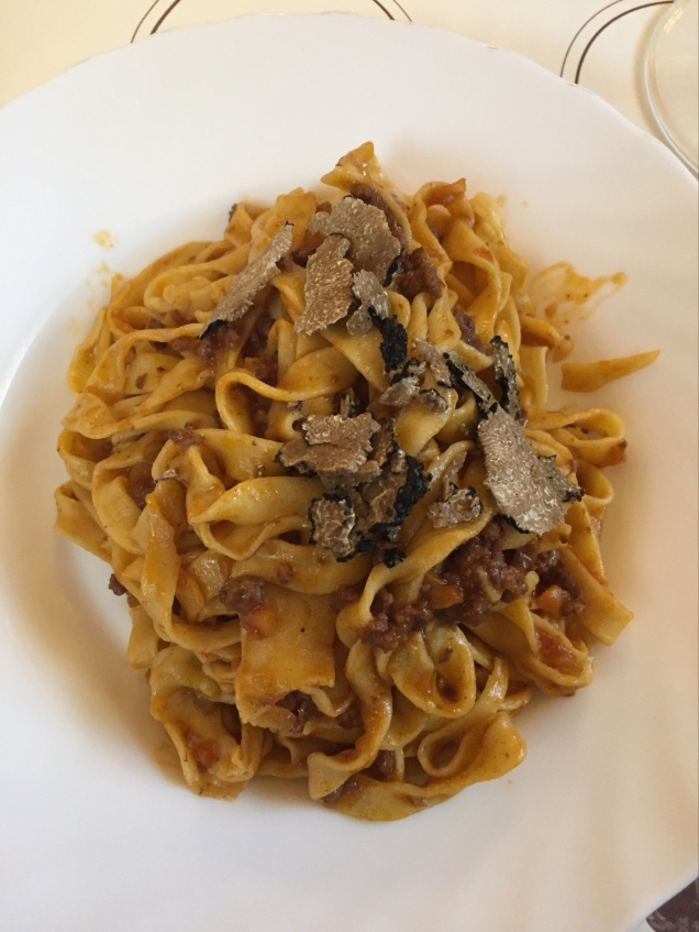 Italy Road Trip - Pasta with Truffles