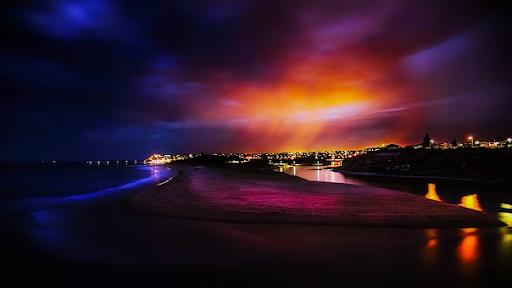 Australia Sunset Dusk