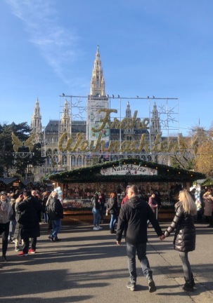 Christmas in Vienna - Rathausplatz