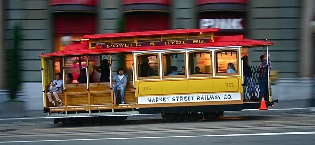 San Francsico cable car