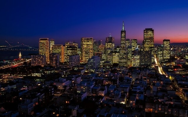 Experience San Francisco at night