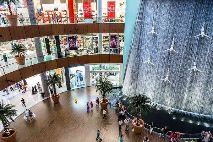 The Dubai Mall in Dubai