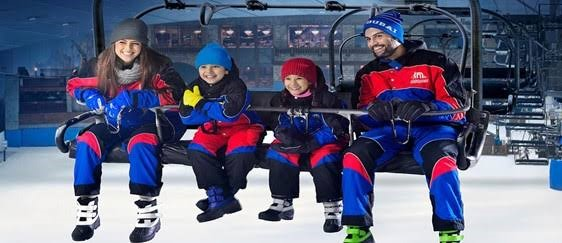 Ski Dubai is an indoor ski hill inside Dubai Mall