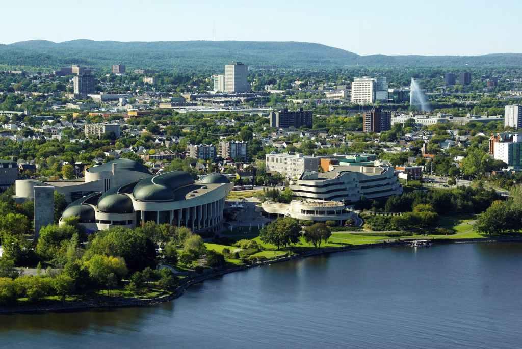 Ottawa architecture panorama