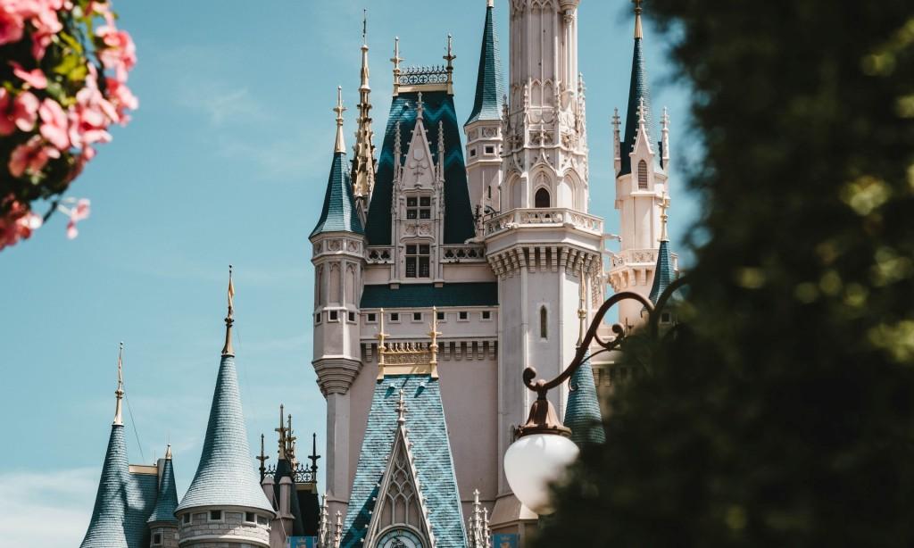 Castle from the Walt Disney World in Orlando