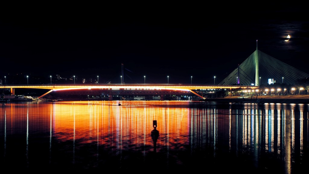 View of a bridge in one of the best European destinations for singles.