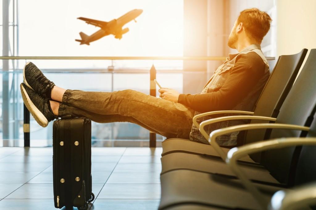 person traveling single to a European destination.